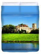 Maisemore Court And Church Duvet Cover