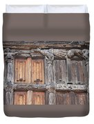 Maison De Bois Macon - Detail Wood Front Duvet Cover