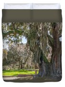 Majestic Live Oak Tree Duvet Cover