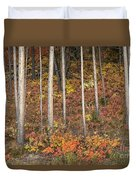 Majestic Autumn In The Grand Tetons Duvet Cover
