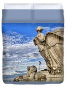 Majestic Bosom Duvet Cover