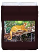 Majestic Hand Embroidery Duvet Cover