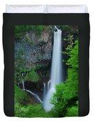Majestic Kegon Falls Duvet Cover