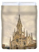 Ubate Cathedral Duvet Cover