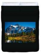 Majestic Mount Shuksan Duvet Cover by Inge Johnsson