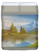 Majestic Mountains Duvet Cover