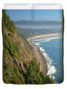 Majestic Oregon View Duvet Cover