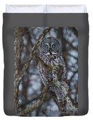 Majestic Owl Duvet Cover