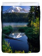 Majestic Reflection Duvet Cover by Inge Johnsson