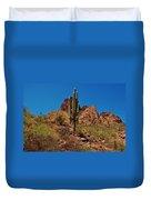 Majestic Saguaro Duvet Cover