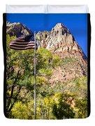 Majestic Sight - Zion National Park Duvet Cover