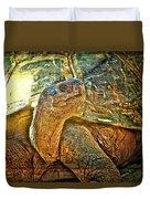 Majestic Tortoise Duvet Cover