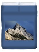 Majesty In The Canadian Rockies Duvet Cover