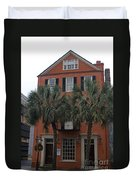 Major Peter Bocquet House Charleston South Carolina Duvet Cover