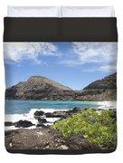 Makapuu Beach Duvet Cover