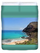 Makapu'u Beach  Duvet Cover