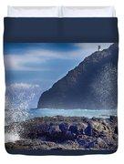 Makapuu Point Lighthouse- Oahu Hawaii V2 Duvet Cover