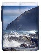 Makapuu Point Lighthouse- Oahu Hawaii V3 Duvet Cover