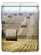 Make Hay While The Sun Shines  Duvet Cover