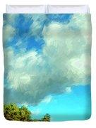 Makena Beach Maui Duvet Cover