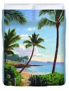 Makena Beach - Maui Duvet Cover