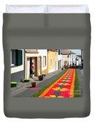 Making Flower Carpets Duvet Cover
