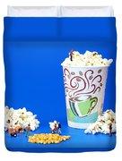 Making Popcorn Duvet Cover