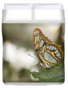 Malachite Butterfly Duvet Cover