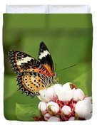 Malay Lacewing Duvet Cover