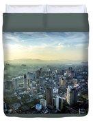 Malaysia Aerial Duvet Cover