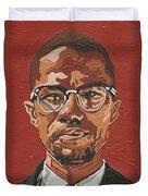 Malcolm X Duvet Cover