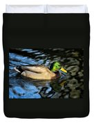 Male Mallard Duvet Cover