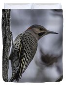 Male - Northern Flicker Duvet Cover