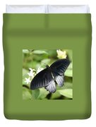 Male Scarlet Swallowtail Duvet Cover