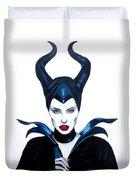 Maleficent Watercolor Duvet Cover