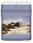 Malibu Waves Duvet Cover