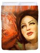 Malika Tarranum Duvet Cover