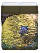 Mallard Pair Duvet Cover