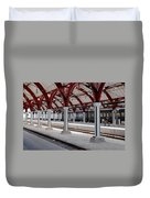 Malmo Train Station Duvet Cover