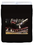 Mamadi Diane Dunk Against Boston College Duvet Cover