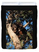 Mama's In The Tree Duvet Cover