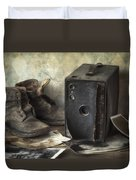 Mama's Memories Duvet Cover by Amy Weiss