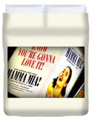 Mamma Mia Duvet Cover
