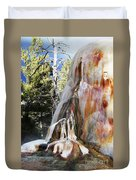 Mammoth Formation Duvet Cover