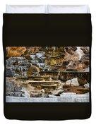Mammoth Hot Springs - Yellowstone Duvet Cover