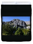 Mammoth Mountain Ski Area Duvet Cover