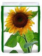 Mammoth Sunflower Duvet Cover