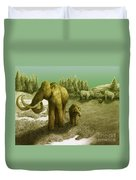 Mammoths Duvet Cover