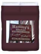 Mammy's Kitchen In Bardstown Kentucky Duvet Cover