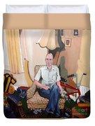 Man At 50... Duvet Cover
